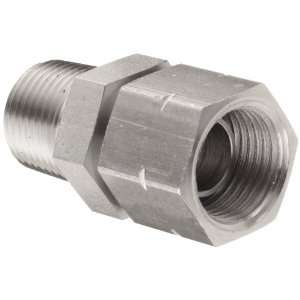 Brennan 1404 02 02 SS Stainless Steel Pipe Fitting, Adapter, 1/8 NPT
