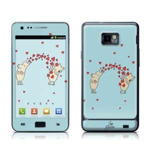 Heart Attack Design Protective Skin Decal Sticker for Samsung Galaxy S