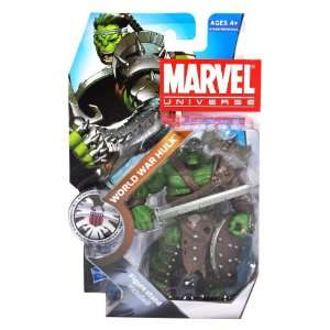 WAR HULK with Long Sword, Battle Axe, Shield and Figure Display Stand