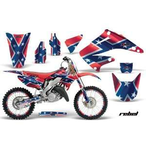 AMR Racing Honda Cr250 Mx Dirt Bike Graphic Kit   1995 2008 Rebel