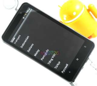 Unlocked Quad Band Android 2.3 WIFI GPS 3G Capacitive Smart Phone HD7