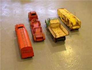 Tonka Pressed Steel Trucks Vintage Restoration Parts Texaco