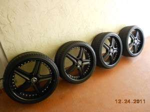 Rims (alloy wheels) 20 EUC 2 month old with Goodyear tires