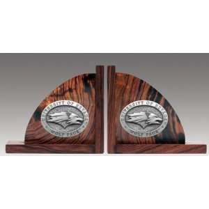 Nevada Wolf Pack Ironwood Book Ends (Set of 2)   NCAA College