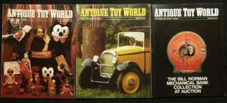Antique Toy World Magazine 22 Issues 1989 1997 Free S&H