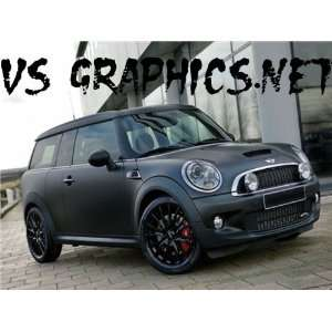 CAR VINYL BLACK MATTE 48X60 MINI COOPER WHOLE CAR
