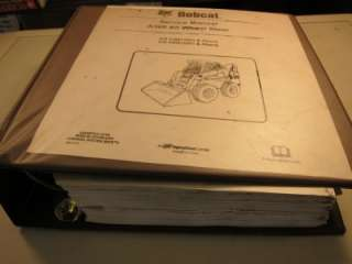 BOBCAT A300 Skid Steer All Wheel Loader SERVICE MANUAL