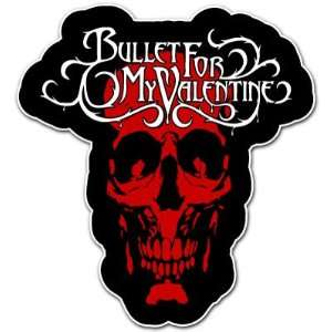 Bullet for My Valentine Skull Heavy Metal Music Car Bumper