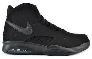 NIKE AIR MAESTRO FLIGHT MENS BASKETBALL 472499 010 BLACK / BLACK