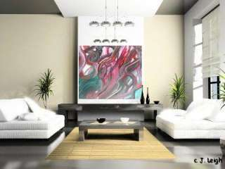 ORIGINAL ABSTRACT MODERN ART PAINTING by JENNIFER LEIGH