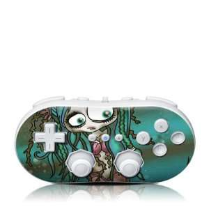 Oil Spill Mermaid Design Skin Decal Sticker for the Wii