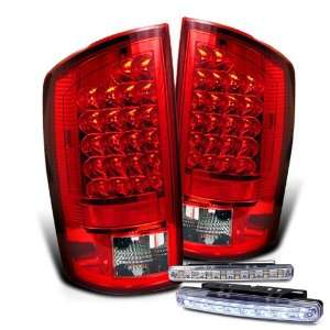 Eautolights 07 08 Dodge Ram LED Tail Lights + LED Bumper