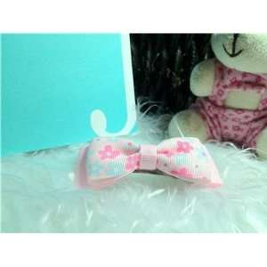 Lovely Cute Kids Girls Manual Hairclip Hairpin Pink Beauty