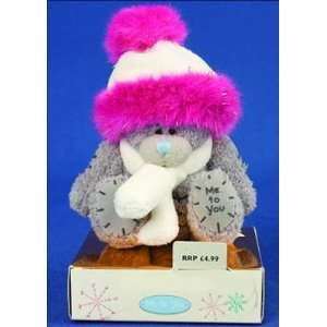 Me to You Tatty Teddy Bear 3 (7.62 Cm) Bear Pink HAT