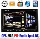 GPS NAVIGATION DOUBLE DIN CAR DVD STEREO TOUCH SCREEN