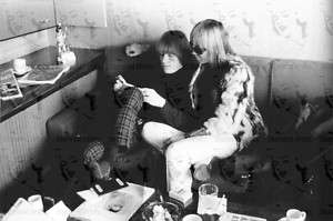 COOL RARE Brian Jones Anita Pallenberg Rolling Stones 60s Photo
