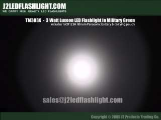 J2ledflashlights only carries high end, high quality LUXEON LED
