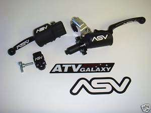 ASV Holiday Brake & Pro Clutch Levers Suzuki RM85 RM 85