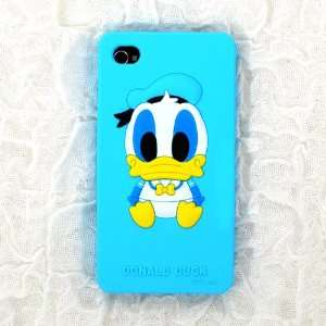 Cute Cartoon Duck Silicone Case for iPhone 4S/iPhone 4