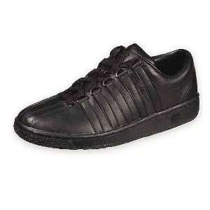 K SWISS Mens Classic Luxury Casual Shoe, Black SIZE 9