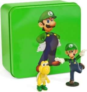 Super Mario Luigi Koopa Troopa Figurines Tin Series 2