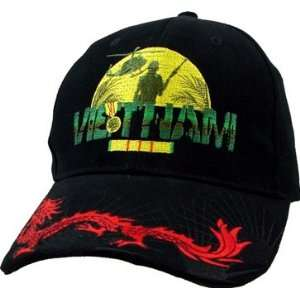 Vietnam Vetearn   TOV with Dragon Bacll Cap Everything
