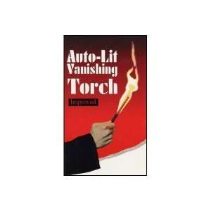 Auto Lit Vanishing Torch by Biz Magic Toys & Games