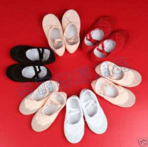 Black Girls Ballet Dance Shoes Slippers U.S. Size 11