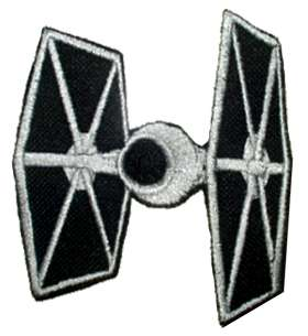 STAR WARS Tie Fighter Embroidered Patch Empire Vader