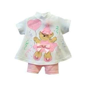 Boutique Girls Birthday Princess Short Set