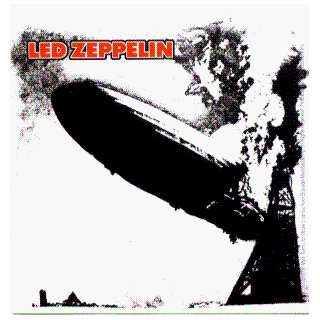 Led Zeppelin   Crashing Blimp Logo   Sticker / Decal Automotive