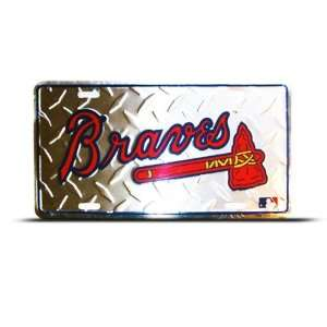 Mlb Metal Sport License Plate Wall Sign Tag Wall Hanging Automotive