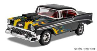 Revell 1/24 scale 1956 Chevy Bel Air w/Corvette V8 Engine plastic