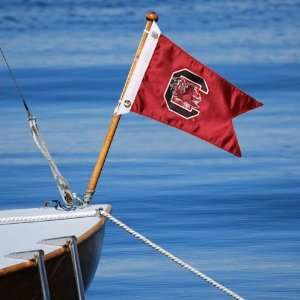 NCAA South Carolina Gamecocks 18 x 12 Boat Flag