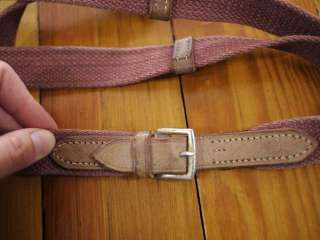 Leather and Cotton Webbing REINS FOR BRIDLE HEADSTALL HORSE WESTERN