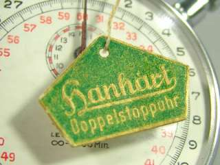 WWII GERMAN HANHART POCKET STOP WATCH SPLIT CHRONOMETER