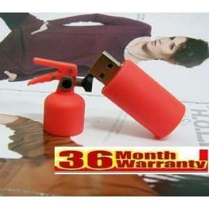 Cool Fire Extinguisher Shape 8gb Usb Flash Drive