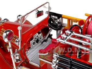 1931 SEAGRAVE FIRE TRUCK RED 132 DIECAST MODEL CAR