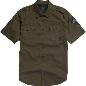 Fox Racing Enrique Shirt   Small/Military Automotive