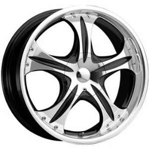 CX CX11 17x7.5 Machined Black Wheel / Rim 5x110 & 5x115 with a 38mm