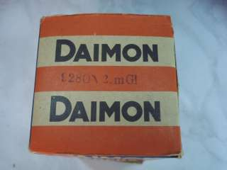 WWII ORIGINAL GERMAN SIGNAL FLASHLIGHT DAIMON w/BOX
