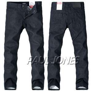 Trendy Casual Slim Fit style Denim Jeans Trousers normal dress 7Size