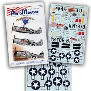 of the 404 Fighter Group, Part 2 (1/48 decals) Toys & Games