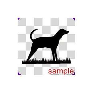 DOGS DOG 8 10 WHITE VINYL DECAL STICKER