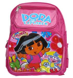 Dora The Explorer kids size Backpack   Dora Book Bag