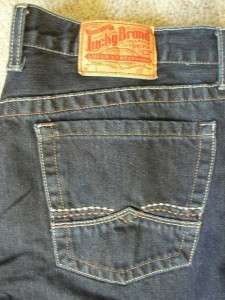 Lucky Brand Dungarees Boot Cut Jeans 34x32 FREE US SHIPPING