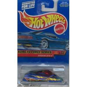 series 3 of 4 blue SHADOW JET II 164 Scale Die cast Collectible Car