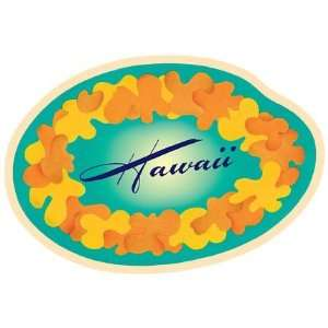 Hawaii Lei Car Window Decal Bumper Sticker Automotive
