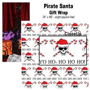 Gift Wrap Pirate Santa