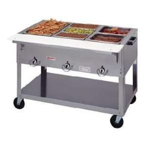 Duke EP302SW Electric Hot Food Table   Portable 2 Holes, 30 3/8W